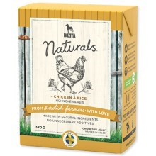 Bozita Naturals big chicken / rice Tetra Pak (370 g)