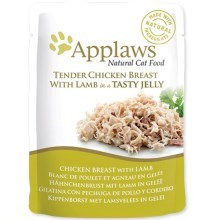 Kapsička Applaws cat pouch chicken with lamb in jelly 70 g
