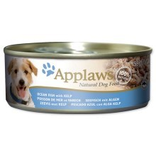 Konzerva Applaws Dog Ocean Fish with Kelp 156g