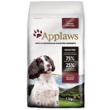 Applaws Dog Lamb Small&Medium Breed Adult 7,5 kg