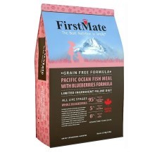 FirstMate Pacific Ocean Fish With Blueberries Cat 4,54 kg