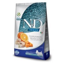 N&D Ocean Dog Grain Free Adult Mini Codfish & Pumpkin & Orange 800 g