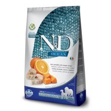 N&D Ocean Dog Grain Free Adult M/L Codfish & Pumpkin & Orange 12 kg