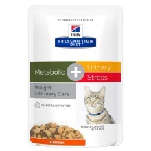 Hill's PD Feline Metabolic + Urinary Stress kapsička 12 x 85 g