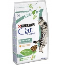Purina Cat Chow Special Care Sterilized krůta 1,5 kg