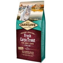 Carnilove Fresh Cat Carp & Trout Sterilised 6 kg