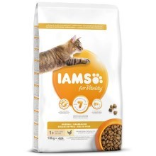 Iams Cat Adult Hairball Chicken 10 kg