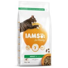 Iams Cat Adult Salmon 2 kg