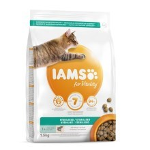 Iams Cat Adult Weight Control/Sterilized Salmon 1,5 kg