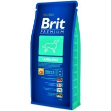 Brit Premium Dog Lamb&Rice 15 kg