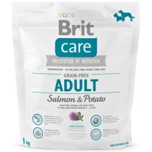 Brit Care Dog Grain-free Adult Salmon & Potato 1 kg