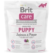 Brit Care Dog Grain-free Puppy Salmon & Potato 1 kg