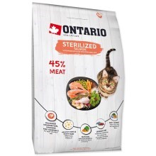 Ontario Cat Sterilised Salmon 2 kg