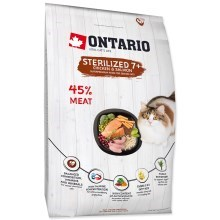 Ontario Cat Sterilised (7+) 6,5 kg