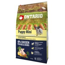Ontario Puppy Mini Chicken & Herbs 6,5 kg