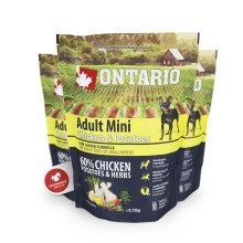 Ontario Adult Mini Chicken & Herbs 0,75 kg