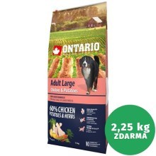Ontario Adult Large Chicken & Herbs 12 kg
