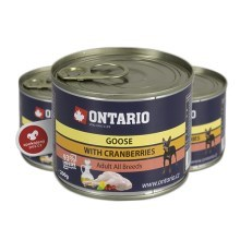 Ontario konzerva Mini goose with cranberries 200 g