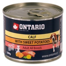 Ontario konzerva mini calf, sweetpotato, dandelion and linseed oil 200 g