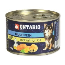 Ontario konzerva mini multi fish and salmon oil 200 g