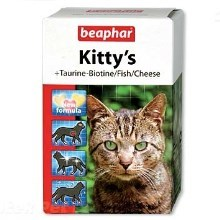 Pochoutka Beaphar Kittys Mix (180tablet)