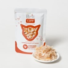 Brit Care Cat kapsa Chicken & Cheese Pouch 80 g