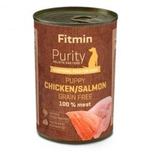 Fitmin Dog Purity konzerva Puppy Salmon with Chicken 400 g