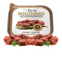 Brit Boutiques Gourmandes Venison Small Breed Meat 150 g