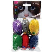Hračka Magic Cat myšky s Catnipem 15 cm (6 ks)