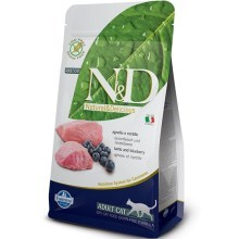 N&D Grain Free Cat Adult Lamb&Blueberry 1,5 kg