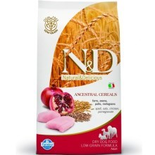 N&D Low Grain Dog Adult Chicken&Pomegranate 12 kg