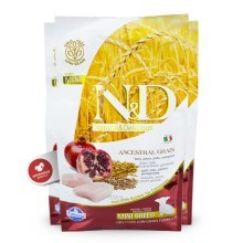 N&D Low Grain Dog Puppy Mini Chicken & Pomegranate 2,5 kg
