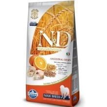 N&D Low Grain Dog Adult Maxi Codfish&Orange 12 kg