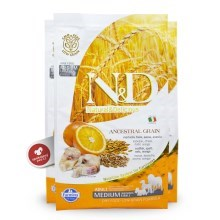N&D Low Grain Dog Adult Codfish & Orange 2,5 kg