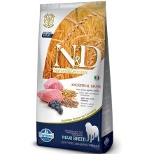 N&D Low Grain Dog Adult Maxi Lamb&Blueberry 12 kg