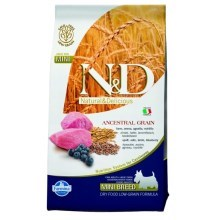 N&D Ancestral Grain Dog Adult Mini Lamb & Blueberry 800 g