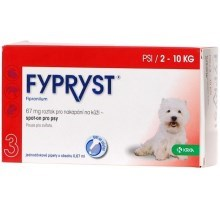 Fypryst Spot-on Dog S 1 x 0,67 ml