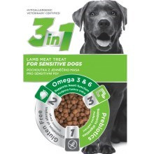 3in1 pochoutka Dog Sensitiv jehněčí 100 g