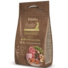 Fitmin Dog Purity Rice Semimoist Rabbit & Lamb 0,8 kg