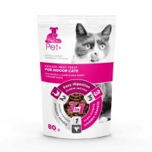 The Pet+ Cat Indoor Treat 80 g