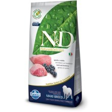 N&D Grain Free Dog Adult Maxi Lamb&Blueberry 12 kg