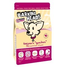 Barking Heads Tiny Paws Quackers Grain Free 4 kg