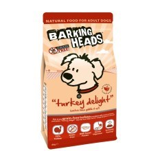 Barking Heads Turkey Delight Grain Free 2 kg
