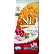 N&D Ancestral Grain Dog Light M/L Chicken&Pomegranate 12 kg