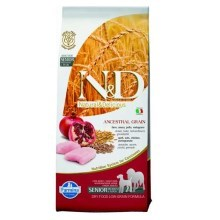 N&D Low Grain Dog Senior M/L Chicken&Pomegranate 12 kg