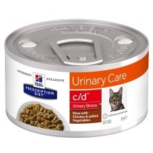 Hill's PD Feline c/d Urinary Stress Stew Chicken & Vegetable 82 g