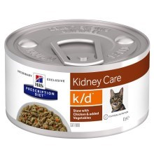 Hill's PD Feline k/d Stew Chicken & Vegetable 82 g