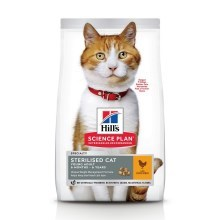 Hill's Feline Young Adult Sterilised Cat Chicken 1,5 kg