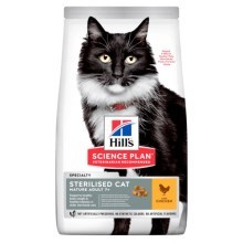 Hill's Feline Mature Adult 7+ Sterilised Cat Chicken 3 kg