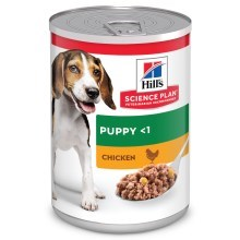 Hill's Puppy Chicken konzerva 370 g